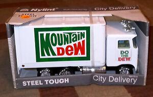 Vintage ORIGINAL NYLINT Mountain Dew SODA CITY DELIVERY NOS RARE