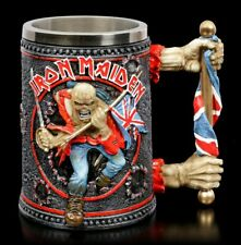 Iron Maiden Krug - Trooper - Bierkrug Merch Heavy Metal Geschenk Fan Skelett