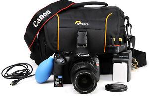 Canon EOS Rebel T2i 550D DSLR Camera + EF-S 18-55mm IS Lens Kit 9,522 Shots  EXC