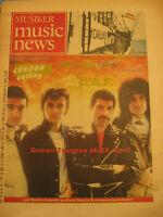 Musiker music news Zeitschrift,Berichte Queen u.a.1982/4-History Music