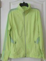 Tangerine Active Mesh Lightweight Zip Jacket Sharp Green Women's Sz XL NWT