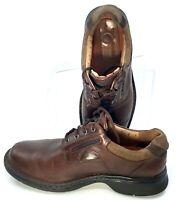 Clarks Unstructured Un.Ravel Oxford Men's Sz 8.5 M Brown Plain Toe Lace Up Shoes