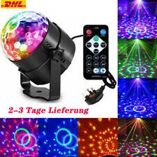 Disco Lichteffekt RGB LED Discokugel DJ Party Bühnenbeleuchtung Fernbedienung