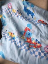 Blue's Clues Twin Bed Sheet Flat Only