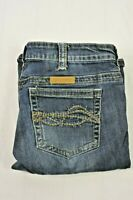 Cowgirl Tuff Jeans 'Dark Don't Fence Me In' 31 x 35