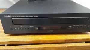 Yamaha natural sound CD changer, CD-C600, 5 disc carousel, no remote