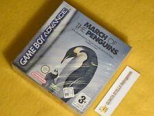 MARCH OF THE PENGUINS  Nintendo Game Boy Advance GBA nuovo sigillato