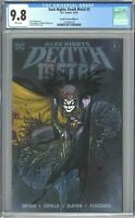 Dark Nights Death Metal #3 CGC 9.8 Frankies Comics Edition A Peach Momoko Cover