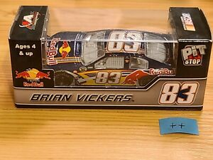 2007 #83 Brian Vickers Red Bull Pit Stop 1/64 Action NASCAR Diecast MIP