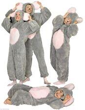 Mauskostüm Plüsch Kostüm Kleid Maus Minni Micky Ratte Mäuse Kinder Overall Damen