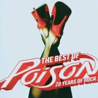 THE BEST OF POISON: 20 YEARS OF ROCK NEW CD