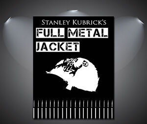 Full Metal Jacket Vintage Movie Poster - A1, A2, A3, A4 available