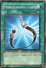 3 X YU-GI-OH CARD: MORPHTRONIC CORD - CSOC-EN051 1st ED