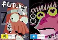 Futurama COMPLETE Season 7 & 8 : NEW DVD
