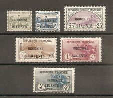 STAMP INDOCHINA INDOCHINA ORPHANS 1919 N°90/95 NEW MH CHINA CHINA