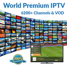 World IPTV 1 giorno 6200+ Premium CH & VOD-USA, Europa, Asia-Smart TV, MAG, M3U