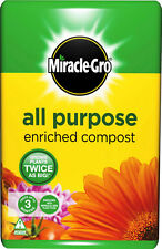 Scotts Miracle-gro All Purpose Enriched Compost Bag 50L