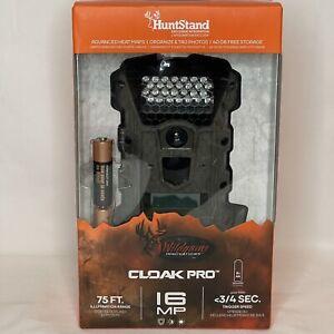 Wildgame Innovations Huntstand Cloak Pro WR16i8W26-9 16MP Trail & Game Camera