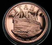 Titanic Copper Round 1 Oz Kupfer Medaille