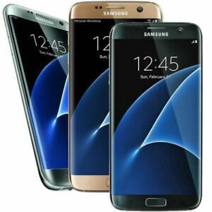 "Samsung Galaxy S7 Edge G935 ""GSM Unlocked"" 32GB 4G LTE Smartphone Very Good"