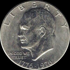 "1976 D Eisenhower Dollar ""Circulated"" US Mint Coin Ike"