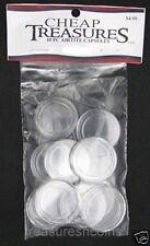 DIRECT FIT COIN CAPSULES AIRTITE NEW 10 PACK 1/2 OZ GOLD/PLATINUM EAGLE 27MM