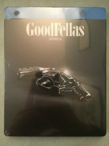 BLU-RAY GOODFELLAS QUEI BRAVI RAGAZZI STEELBOOK ITALIANA WB ICONIC MOMENTS NUOVO