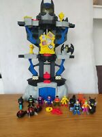 Imaginext Transforming Batcave Vehicles & Figures Mr Freeze Superman Joker Flash