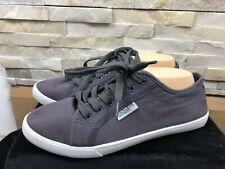 Henleys Originals Mens Size UK 9 Dark Navy Grey Trainers Shoes