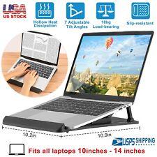 Laptop Table Stand Desk Tray Cooling Holder Adjustable 360° Rotation Swivel Base