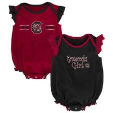 South Carolina Gamecocks Creeper 2 Pack Homecoming Bodysuit Set