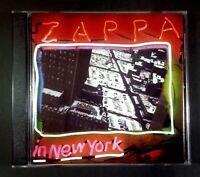 FRANK ZAPPA zappa in New York EU 2xCD RYKODISC