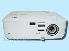 NEC NP400 LCD Projector, 2600 ANSI - Lumens, HDMI (W/Adapter), Remote
