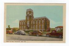 Hôtel de Ville CHICOUTIMI Quebec Canada 1940s Carte Postale PECO Postcard 28