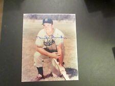 Duke Snider Brooklyn Dodgers  Replica 8 x 10 Autographed Photo