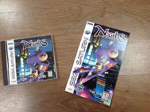 Nights into Dreams Sega Saturn US Import
