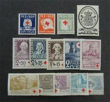 nystamps Finland Stamp # B2//B20 Mint OG H $31