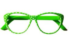 "Doll Clothes 18"" Glasses Polka Dot Lime Green Made To Fit American Girl 18"" Doll"