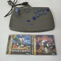 Sega Saturn Controller Virtua Stick Arcade Fighting Joystick 2 games Virtua Figh