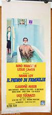 locandina film IL PADRE DI FAMIGLIA Nino Manfredi Leslie Caron 1947