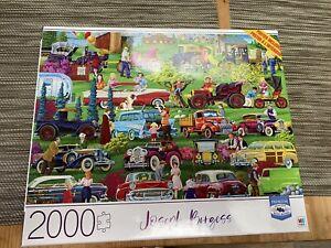 Joseph Burgess- Antique Car Show- 2000 Piece Puzzle