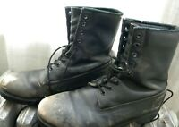 Vintage Timberland Black Leather Boots- Mens Size 12 M?