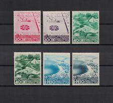 Mexico Mexiko 1938 Minr 755, 757 * / mh + 756, 758-760 ** / mnh
