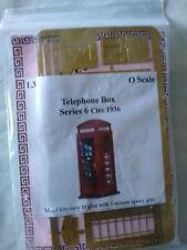 LANGLEY MODEL PHONE BOX 0 GAUGE CIRCA 1936