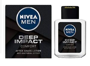 Nivea Men Deep Impact Comfort After Shave Lotion Anti Bacterial Effect - 100 ML