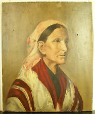 M Un Cholet gitano Bohemio zingara Gypsy A . Tela Paint 1892 Oil on lona