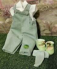 Vogue boy/girl corduroy overalls /w frog,5 pcs.Choice of shoes! Fire-Flies LE