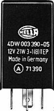 4DW 003 390-057 Hella Flasher Unidad 12 V 4 Pin