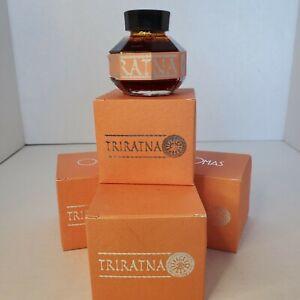 VTG Writing Calligraphy Ink Pot/Bottle - OMAS Triratna SAFFRON (Burnt Orange) LE