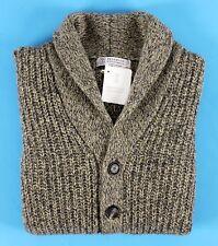 Brunello CUCINELLI 100 Cashmere Thick Shawl Cardigan Sweater Sz 50 L